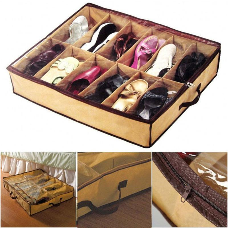 12-layer Non-woven Shoe Box Storage Foldable Wardrobe, Bedroom, Drawer, Living Room, Under The Bed, Storage Room For Cloth