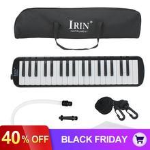 IRIN 37 КЛЮЧ мелодика Фортепиано стиль гармоника Pianica+ сумка для переноски музыкальный инструмент для студентов меломанов начинающих подарок для детей