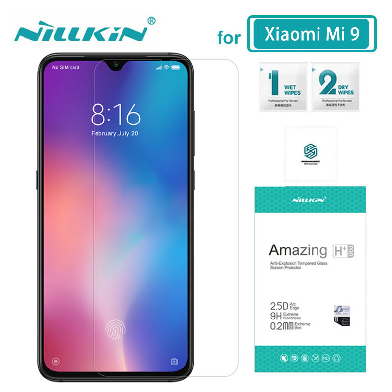 Xiaomi Mi 9 Glass 6.39 Inch NILLKIN Amazing H+Pro 0.2MM Screen Protector Tempered Glass For Xiaomi Mi9 Mi 9 SE
