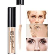 цены 3 Colors Face Liquid Concealer Sticks Hidden Pores Brighten PrimerLiquid Concealer Makeup Eye Dark Circles Cream Face Corrector