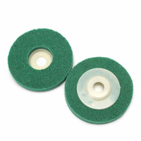 Metalworking Grinding 4 Inch Nylon Polishing Wheels Bowl Abrasive Discs 20Pcs Polishing Part Set