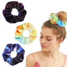 Velvet Scrunchie Women Girls Elastic Hair Rubber Bands Accessories Bobble Sports Dance Soft Charming Hairband