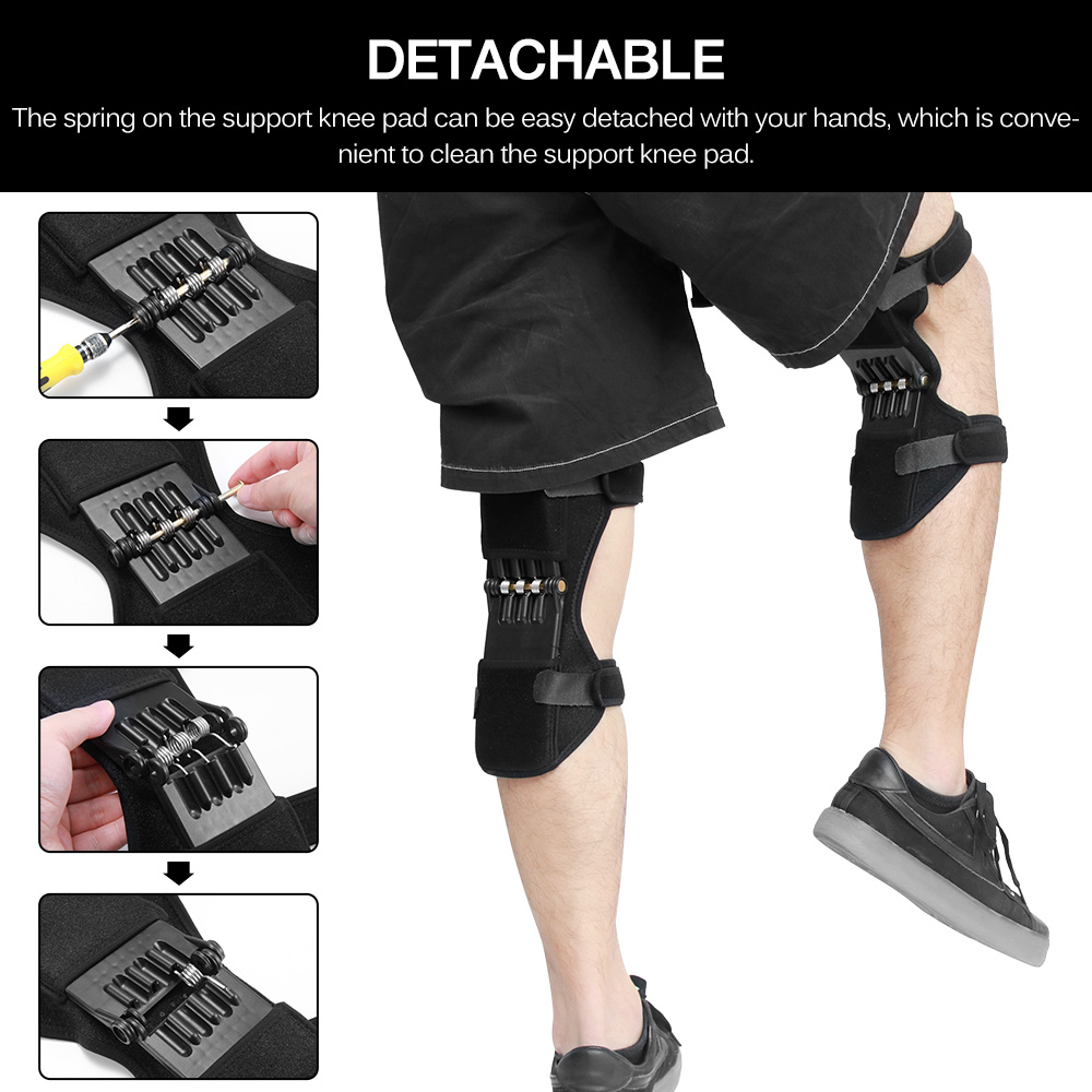Knee Protector Joint Support Knee Pads Booster Breathable Non-Slip