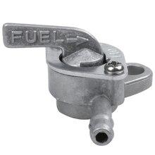 Топливный кран универсальный 6 мм для мопеда, скутера, мотоцикла и quad с функцией закрытия