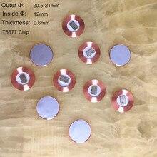 10 шт./лот, 125 кГц, EM4100, RFID, только для чтения, монета, тег T5577, диаметр 19,5 мм, чип катушки, ультратонкий стикер, EM, записываемый