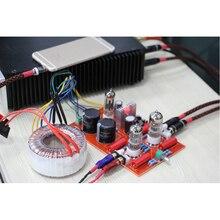 عالية الطاقة 6N3 / GE5670 أنابيب المعدل أنبوب HIFI مكبر للصوت أنبوب preamp مكبر للصوت مجلس لتقوم بها بنفسك عدة (مع محول حلقي)