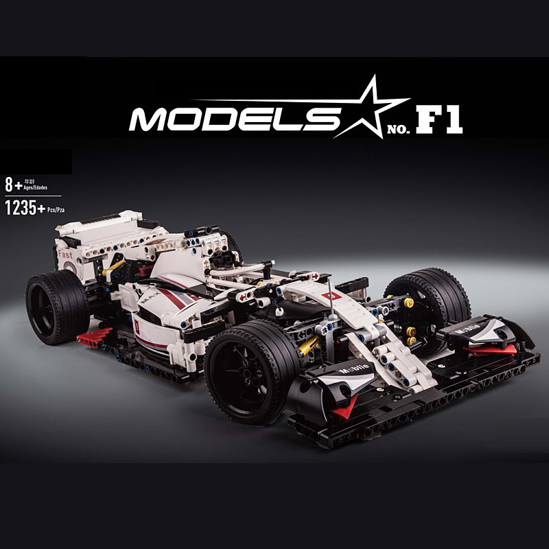 MouldKing 13117 42096 alternate - F1 Car Compatible MOC 31313