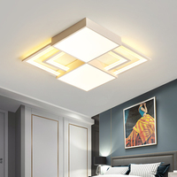 White frame modern chandeliers ceiling for bed room dining room AC110V 220V modern led chandelier lampara techo home lighting