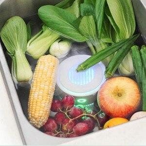 Image 5 - Purificador de frutas y verduras para esterilizar desinfección, elimina residuos de pesticidas, de vegetales para cocina, esterilizador de alimentos