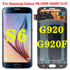 ORIGINAL 5.1'' Super AMOLED Replacement LCD S6 for SAMSUNG GALAXY S6 G920 SM-G920F G920F G920FD Touch Screen Digitizer Assembly