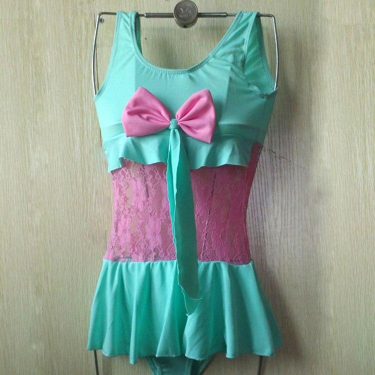 Kids Siamese Swimsuit GIRL'S Swimsuit (3-6-Year-Old) 9304 CHILDREN'S Swimwear