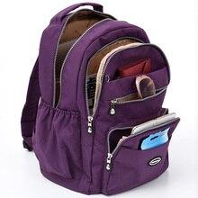 2020 nouveau sac à dos en Nylon imperméable femmes grande capacité voyage sac à dos loisirs sac à dos pour ordinateur portable sacs décole pour filles Mochila