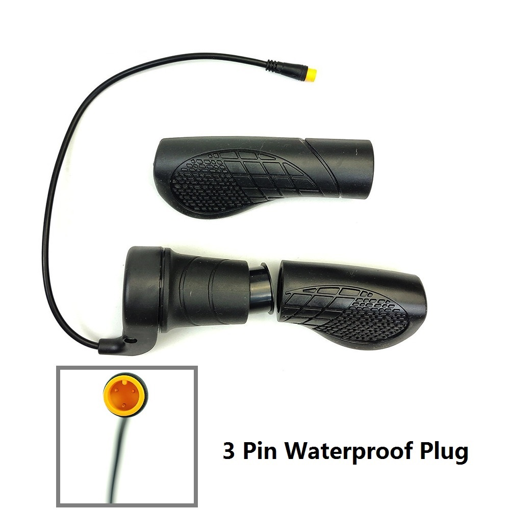 Waterproof Plug Electric Bicycle 20X Half Twist Throttle Make up the Difference Money(Right hand)
