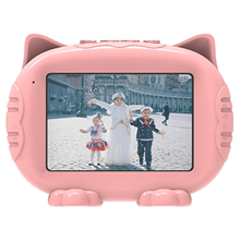 Electronic Photo Frame Children Picture Frame Digital 3.5 Inch HD Screen MP3 Alarm Clock Photo Album for Kids Birthday Gift