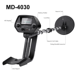Md4030 detector de metais subterrâneo profissional ouro prata caçador de tesouros rastreador seeker detector de metais localizador do parafuso prisioneiro