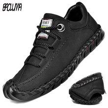 ฤดูร้อนแบรนด์ชายนุ่มรองเท้าทำด้วยมือผู้ชาย Loafers แบรนด์หรูแฟชั่นฤดูใบไม้ผลิรองเท้าผ้าใบชายรองเท้าร้อนขาย
