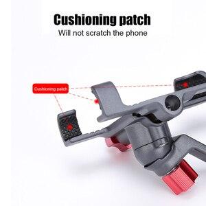 Image 2 - Vmonv Aluminium Motorfiets Fiets Achteruitkijkspiegel Telefoon Houder Voor iPhone X 8P Universele Bike Stuur Stand Sansung S8 S9 mount