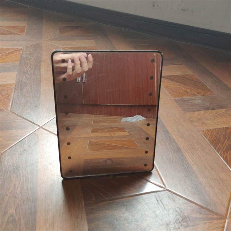 USB двойной светодиодный зеркало для макияжа Amazon Douyin Горячая складное зеркало онлайн знаменитостей вращающееся на 360 ° туалетное зеркало