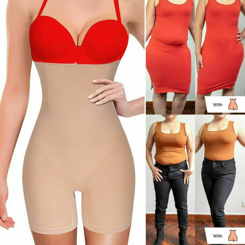 All-Day High-Waisted Shorts Pants Women Body Shaper Underwear Women Lose Weight Fat Burning Shapers Corset  Shapewear