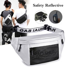 Casual Travel Waist Packs For Men 2020 New Sport Waist Bags Male Top Quality Nylon Belt Fanny Packs Handy Cross Body Chest Pack(China)