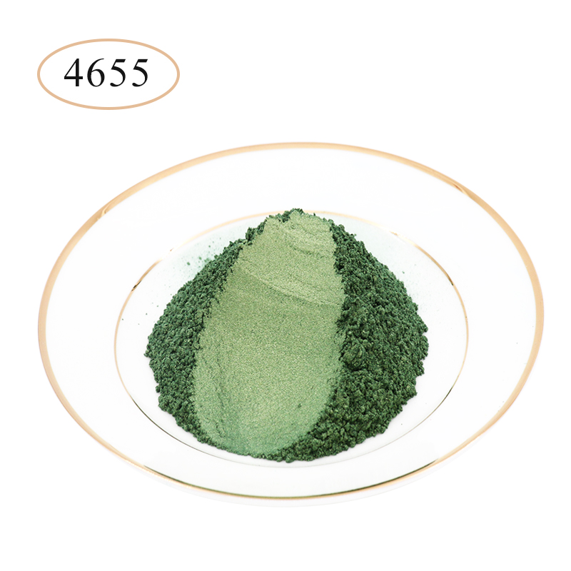 Type 4655 Pearl Powder Pigment   Mineral Mica Powder DIY Dye Colorant For Soap Automotive Art Crafts Mica Pearl Powder 10g/50g
