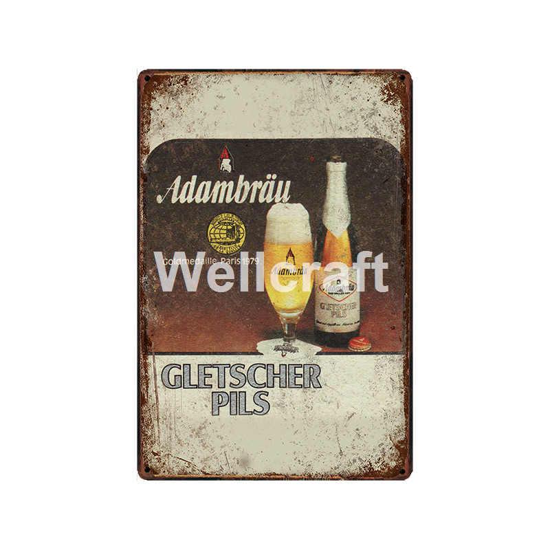 [WellCraft] BIRRA AAA Millers JAX Metallo Targhe In Metallo Poster Vintage Pittura Su Ordinazione Decor LT-1971