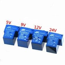цена на 2pcs T90 relay sla-05 09 12V 24VDC 48vdc-sl-a - C 4 / 5 / 6 pin 30A