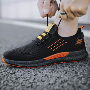 Running-Shoes Trend Winter Mesh And COUPLE'S Sporty Wear-Resistant Korean-Style Autumn