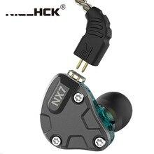 NiceHCK – écouteurs intra-auriculaires NX7, 4BA, double carbone, Nanotube dynamique, céramique piézoélectrique hybride, 7 unités de commande, HIFI, IEM, casque métallique