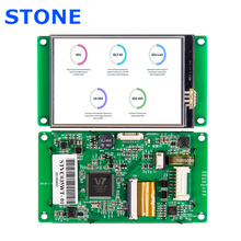 STONE 3.5 Inch HMI TFT LCD Display Module with Embedded System+Software for Industrial Use