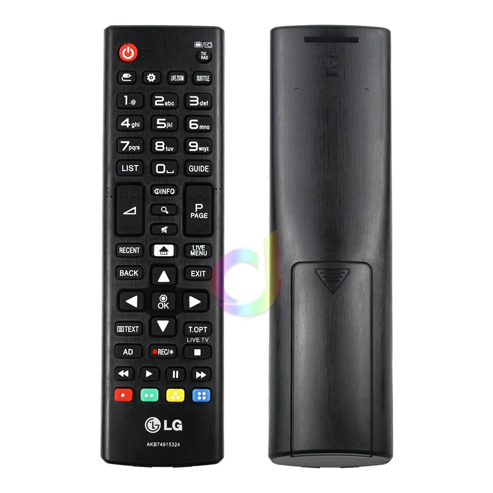Беспроводной пульт дистанционного управления для LG AKB74915324 ABS, замена 433 МГц для смарт-телевизоров LGAKB74915324, светодиодный ЖК-телевизоров