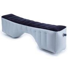 Надувная автомобильная кровать для путешествий, матрас для автомобильного сиденья, аксессуары для заднего сиденья, подушка для воздушной кровати, для улицы, без воздушного насоса