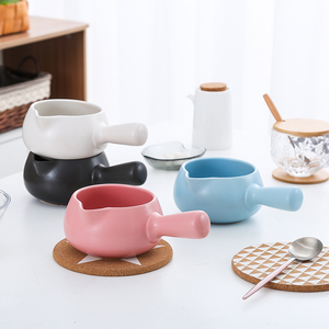 Image 5 - Ceramics Nonstick Mini Chocolate Milk Cheese Heating Pan Sauces Cuisine Soup Pan Noodle Oatmeal Babyfood Stock Pot For Gas Stove