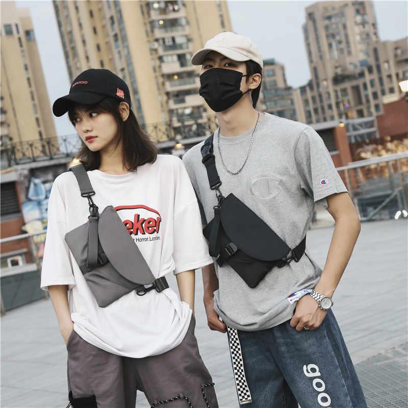 Wasserdicht Mann Taille Tasche Mode Brust Pack Outdoor Sport Crossbody-tasche für Frauen Casual Reise Männlichen Bum Gürtel Tasche