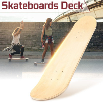2018 8inch 8-Layer Maple Blank Double Concave Skateboards Natural Skate Deck Board Skateboards Deck Wood Maple