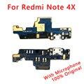 Оригинальный USB разъем для Redmi Note 4X зарядный порт гибкий кабель для Redmi Note 4X зарядное устройство платы PCB ленты запасные части