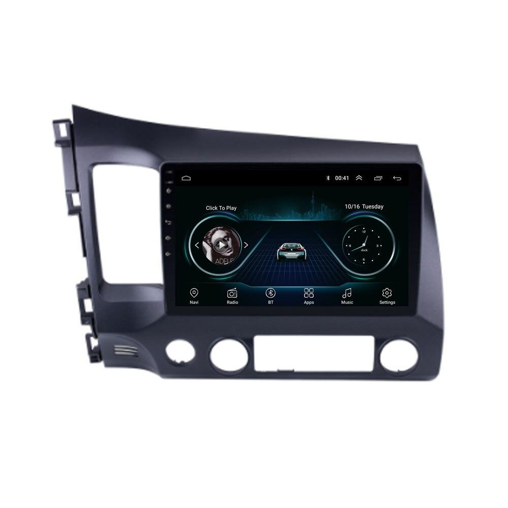 Четырехъядерный Android 8,1 Fit HONDA CIVIC 2008 2009 2010 2011 Мультимедиа стерео автомобильный dvd-плеер навигация gps радио