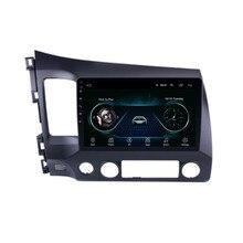 مشغل الوسائط المتعددة ستيريو DVD للسيارة أندرويد 10.1 راديو, نظام تحديد الموقع تناسب هوندا CIVIC 2008 2009 2010 2011