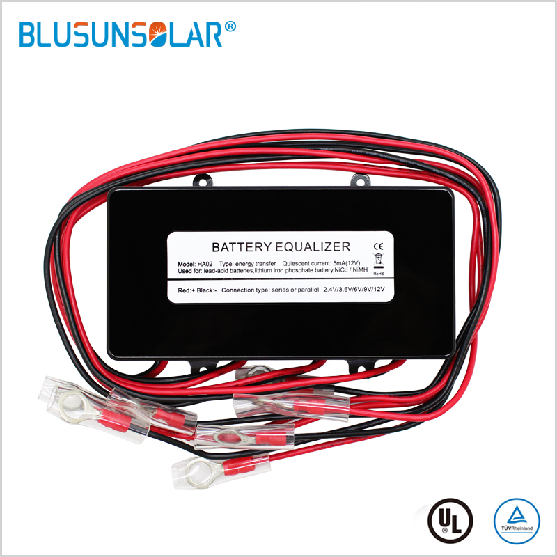 Battery Equalizer HA02 Batteries Voltage Balance  Lead Acid Battery Connected In Parallel Series For 24/36/48V