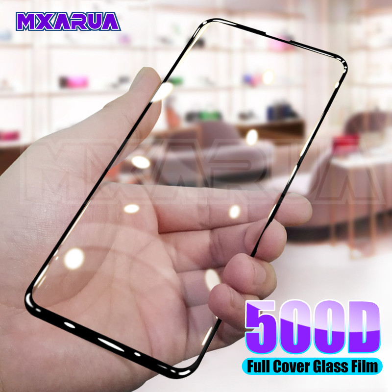 500D Protective Glass For Huawei Honor 20 Lite 20S V20 V10 Screen Protector Honor 9X 8X 8S 8A 8C 9i 10i 20i Tempered Glass Film