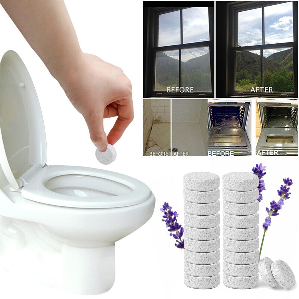 1/10/20PCS Multifunctional Effervescent Spray Cleaner Set Concentrate Lavender Home Cleaning Dropshipping