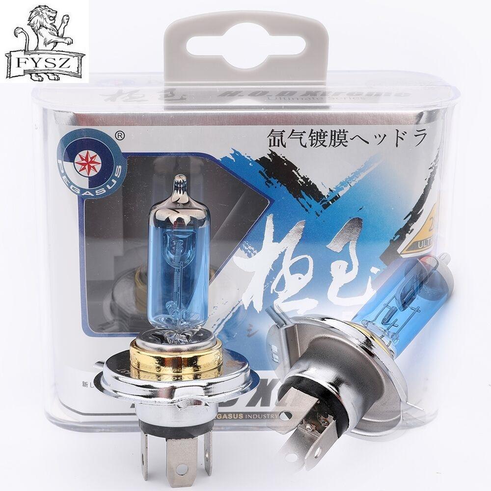 H4 3500K Xenon Gas HID Halogen Headlight Headlamp Head Bulb Lamp 100W 12V