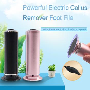 Profesjonalny elektryczny narzędzie do pielęgnacji stóp plik urządzenie do pedicure elektroniczny Pedi Heel skrobaczka do pięt dla stóp martwe usuwanie skórek narzędzia tanie i dobre opinie Ręka noga pliku 140*45mm Narzędzie pielęgnacja stóp Electric SN320 Pink Black Electric with Speed control DC 4 2V-0 5A