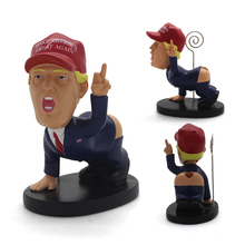 Christmas Gift President Dump A Trump Statue Pen Holder Funny The Greatest Donald Gag Fancy Desk Decor Xmas Birthday Gifts
