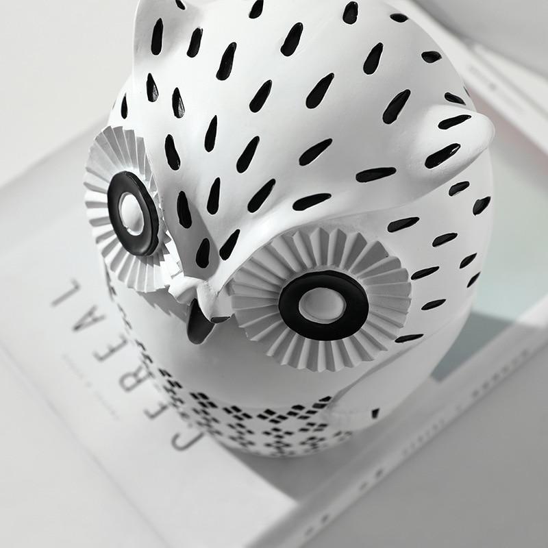 escritório estudo salão exposição decoração suave coruja criativo artesanato
