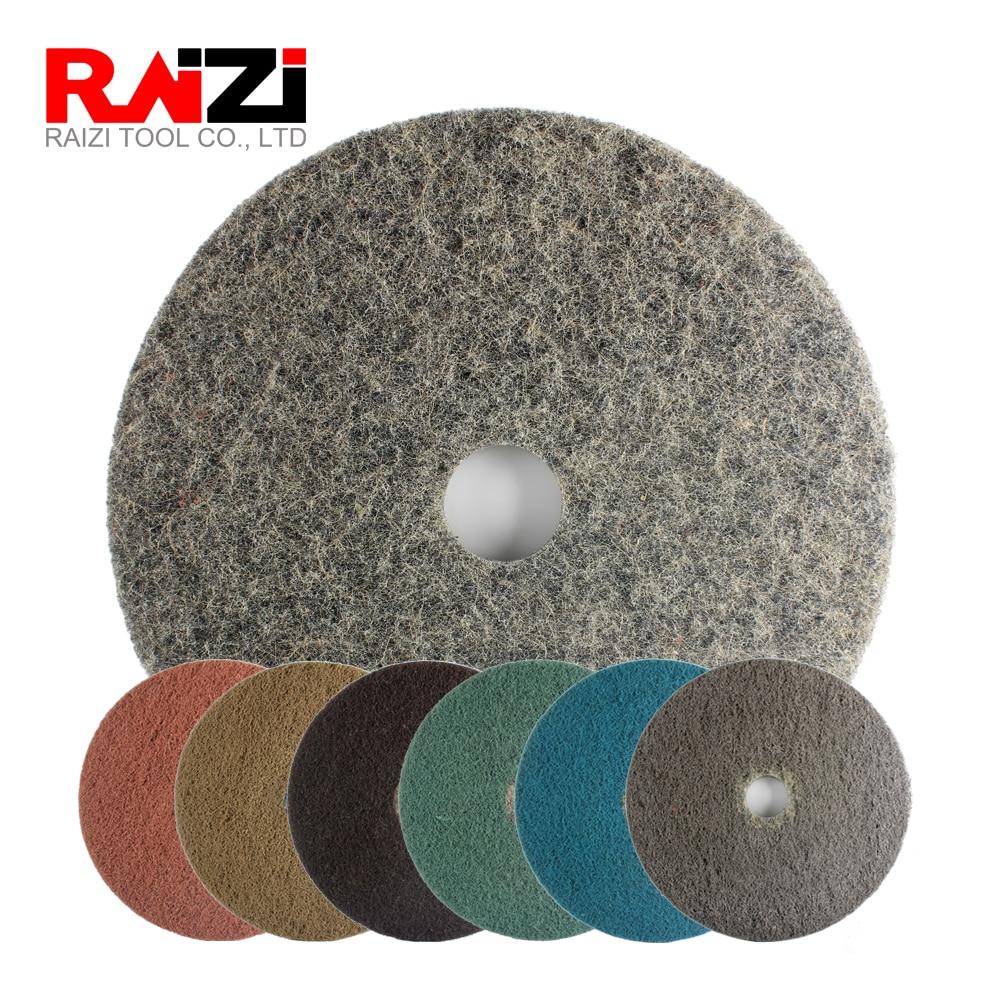 Raizi 11 pouces diamant imprégné tampons de polissage de sol disque pour béton granit marbre sur sol rectifieuse