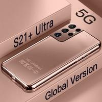 Galay-teléfono inteligente S21 + Ultra, versión Global, 7,3 pulgadas, 16GB + 512GB, 6800mAh, 24MP + 48MP, desbloqueado