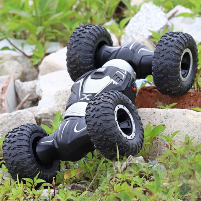 Coche Radio Control 4WD Juguete de Alta Velocidad RC Coche Niños Juguetes