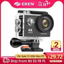 """EKEN cámara de acción H9R/H9 Ultra HD 4K/30fps wifi 2,0"""" 170D, Casco impermeable, cámaras de grabación de vídeo, cámara deportiva"""
