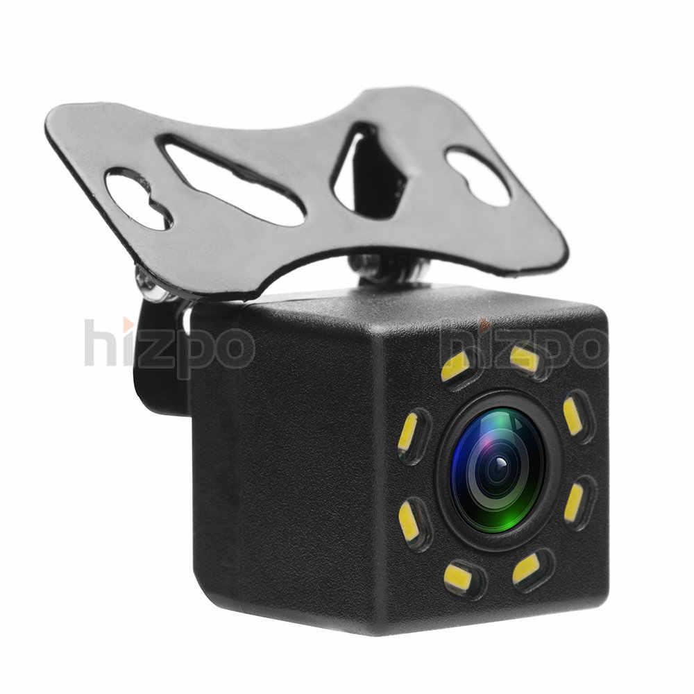 車のリアビューパーキングカメラ Hd ナイト Led ライト Dvd のバックアップリバース後姿カメラ駐車場ライン + 6 メートルのワイヤー